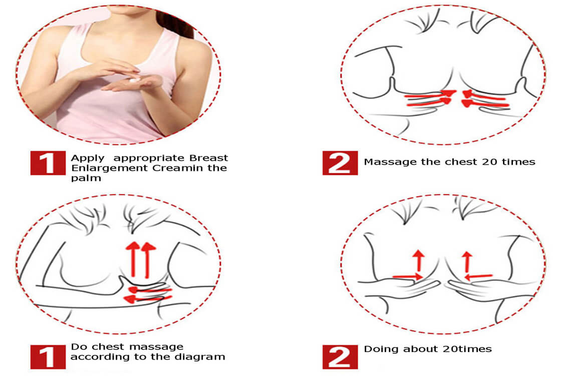 Massage for Breast Enlargement