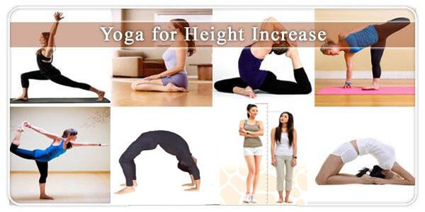 Yoga Asanas that help in the growth of height